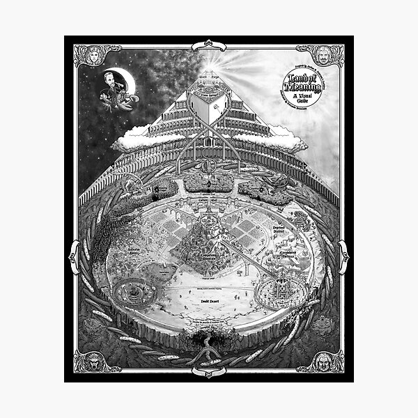 Land of Meaning Photographic Print