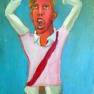 Soccer fan by Diego Manuel Rodriguez