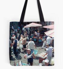 Catania Fish Market Tote Bag