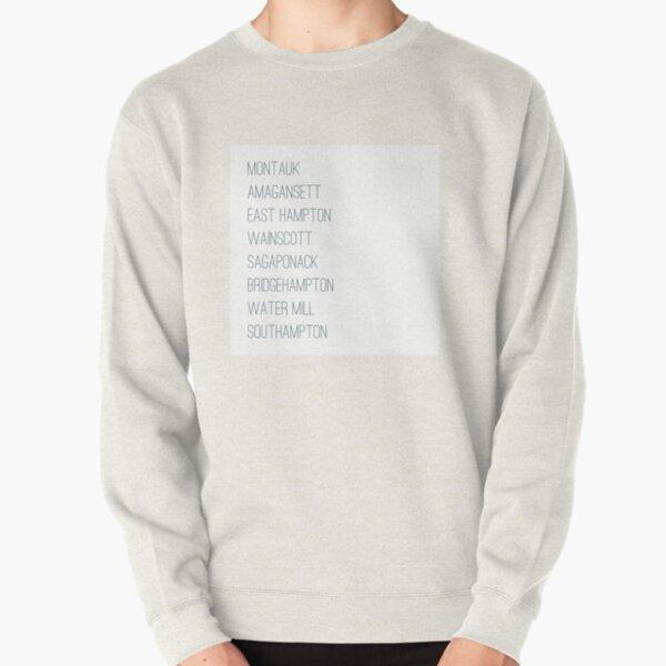 Hamptons Towns Pullover Sweatshirt