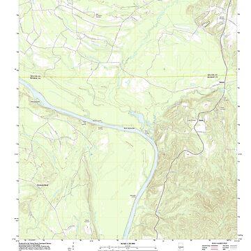 USGS TOPO Map Alabama AL Hybart 20110910 TM by wetdryvac