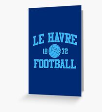 Le Havre Football Athletic College Style 2 Color Greeting Card