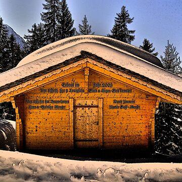 Alpine Cabin by itchingink