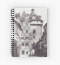 Hotel de ville loches Spiral Notebook