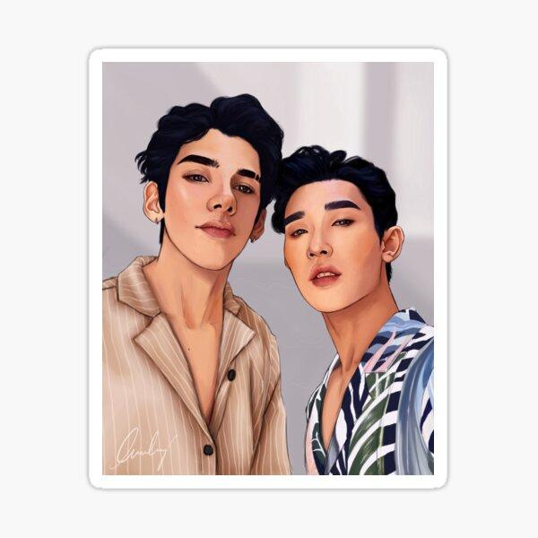 Yoandri & Ivan Sticker
