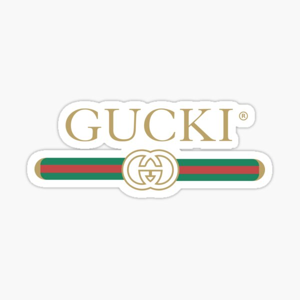 Gucki Sticker