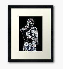 Fashion Girl Fine Art Print Framed Print