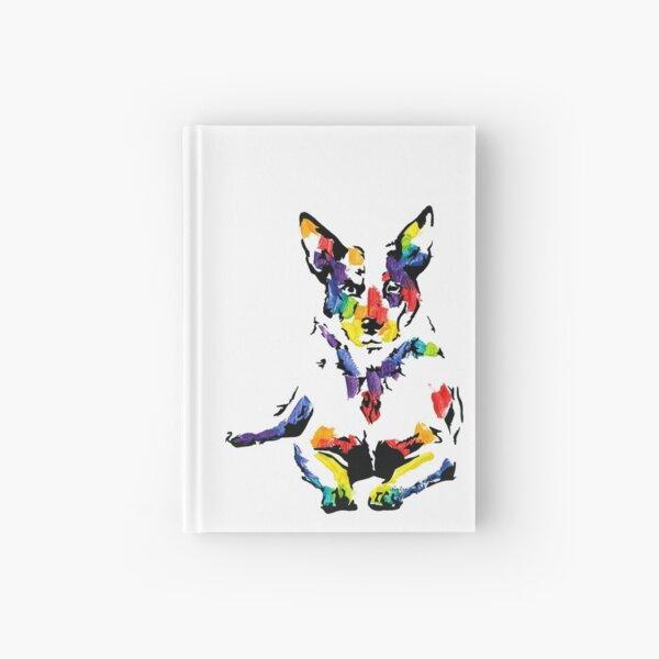 Blue the Australian Cattle Dog *dark Hardcover Journal