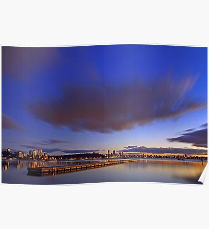 Matilda Bay At Dawn  Poster