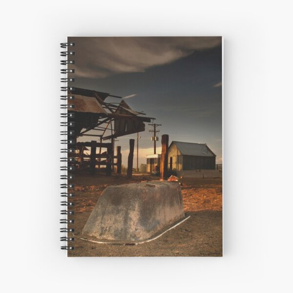 Worn and Discarded Spiral Notebook