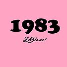 PINK 83' by KLCreative