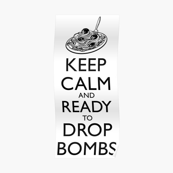 Keep Calm and Ready Poster
