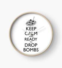 Keep Calm and Ready Clock