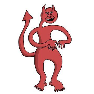 The Devil by Grimessart