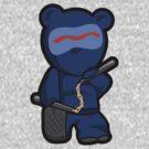Beware the ninja bear warrior... SHINOBEAR! by Lordy99