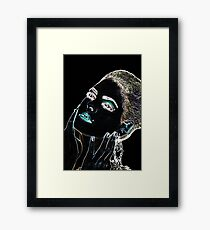 Angel Face Fine Art Print Framed Print