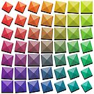Colorful squares by Denys Golemenkov