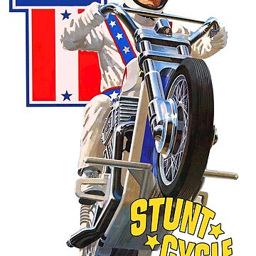 Evel Knievel Stunt Cycle Shirt by TheScrambler