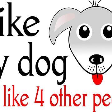 Dog love vs People love by notquitepolite