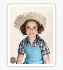 Shirley Temple - 1938 colorized Sticker