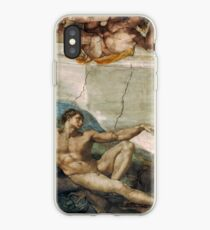 Creation of Adam by Michelangelo iPhone Case