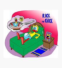 "Rick the chick ""NIGHTMARE"" Photographic Print"