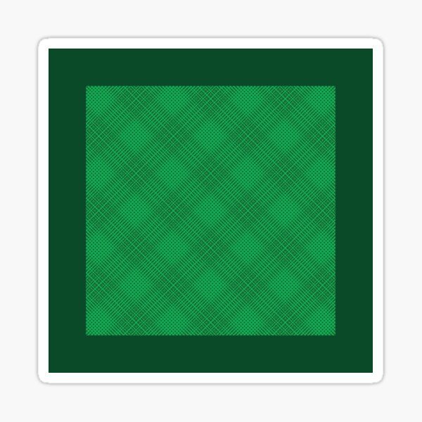 Pattern 008: Expanding Grid GN Sticker