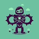 Castle Robot by minilla