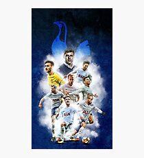 Illustration Tottenham Squad Photographic Print