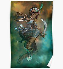 Fantasy Sword Saint Poster