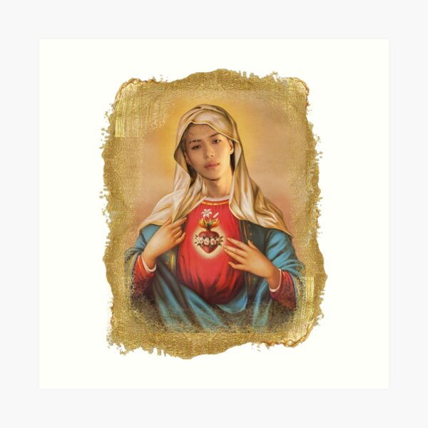 Saint Taemin 'Francesco' Art Print