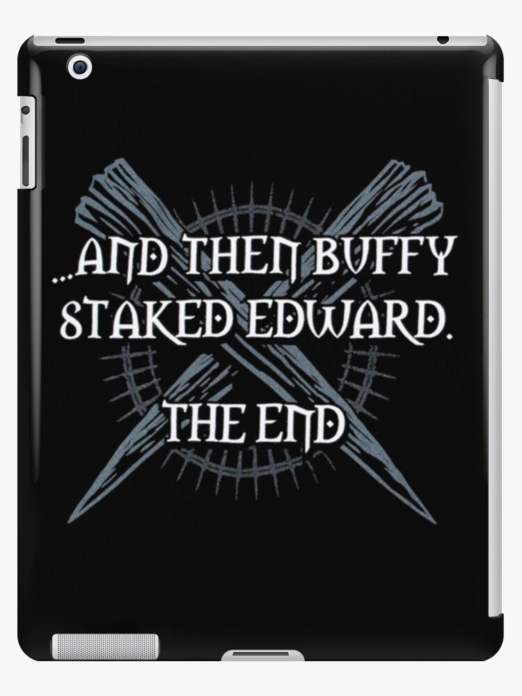 """Buffy staked Edward"" by Billie Ingram"
