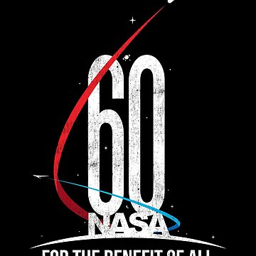 NASA 60th Anniversary For The Benefit of All by wrestletoys