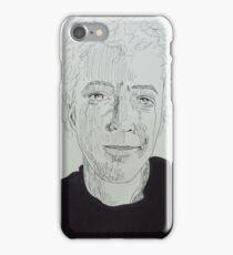 14 minutes, 47 seconds. 9''x12''. pen on paper. adam sturch iPhone Case/Skin