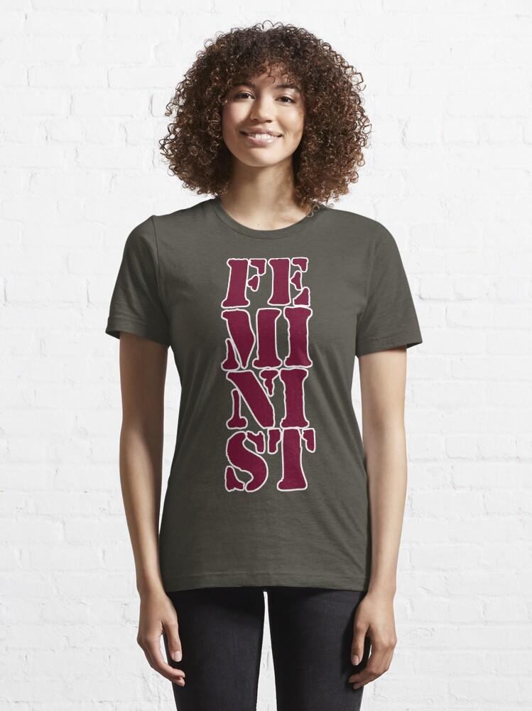 Alternate view of Feminist Essential T-Shirt