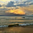 Beautiful Cloud and Waves by Graphxpro