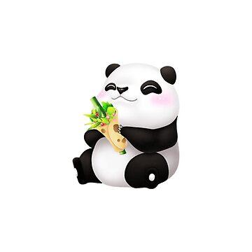 Cute Emoji Panda  by fonzyhappydays
