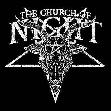 The Church of Night by huckblade