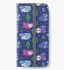 Faire isle owls_1 iPhone Wallet/Case/Skin