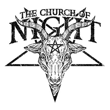 The Church of Night (Variant) by huckblade