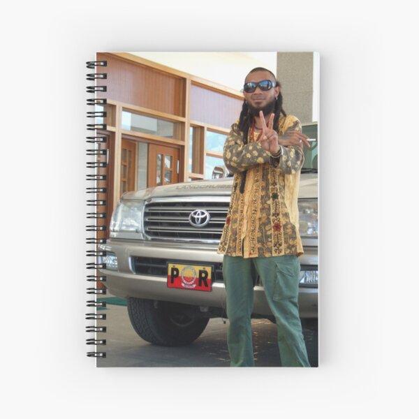 Meli Fernandes, the President of Music by Richard Jones Spiral Notebook