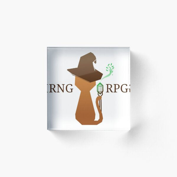 RNG Gaming - RPG Group Acrylic Block