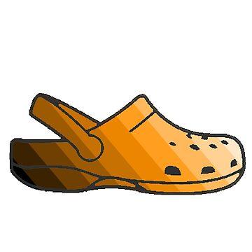 Orange Stripe Minimalist Crocs by apollosale