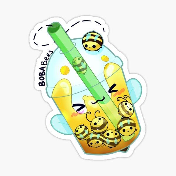 BobaBees Sticker