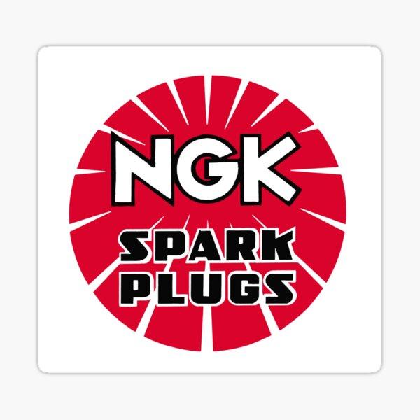 SMALL GENUINE CHAMPION SPARK PLUGS Sticker Decal ORIGINAL