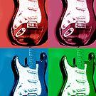 Pop Guitar by Avalinart
