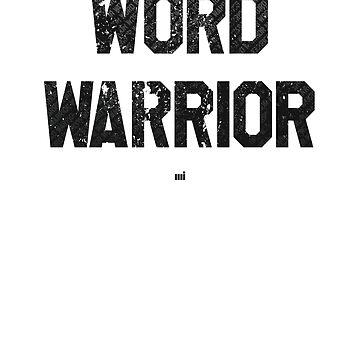 Word Warrior by ixmanga