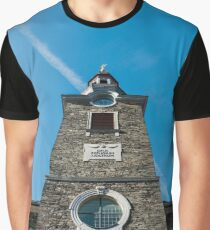 Evangelist Church in the Historic Town of Monschau, Germany Graphic T-Shirt