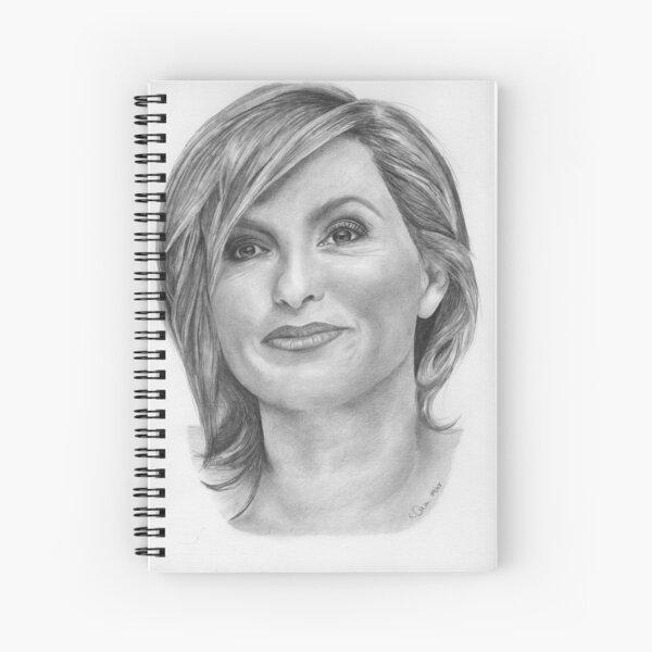 Mariska Hargitay Spiral Notebook