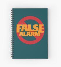 False Alarm Spiral Notebook